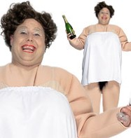 Little Britain Bubbles - Adult Costume Fancy Dress