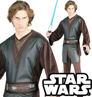 Anakin Skywalker - Adult Costume Fancy Dress
