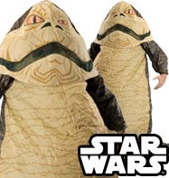 Jabba the Hutt Inflatable Suit - Adult Costume Fancy Dress