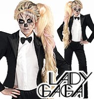 Lady Gaga Tuxedo - Adult Costume Fancy Dress