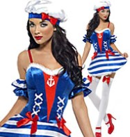 Sailor Sweetie - Adult Costume Fancy Dress