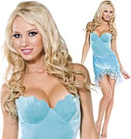 Little Mermaid Princess - Adult Costume Fancy Dress