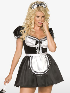 Sexy French Maid - Adult Costume Fancy Dress
