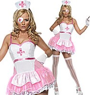 Pin Up Nurse - Adult Costume Fancy Dress
