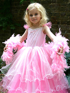 Frilly Milly - Child Costume Fancy Dress