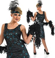 1920's Party Dress - Adult Costume Fancy Dress