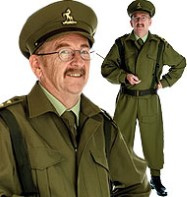 British Home Guard Officer - Adult Costume Fancy Dress