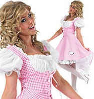 Bo Peep Long Length - Adult Costume Fancy Dress