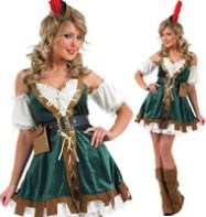 Sexy Robin Hood - Adult Costume Fancy Dress