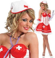 Sexy Tutu Nurse - Adult Costume Fancy Dress