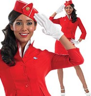 Cabin Crew Plus - Adult Costume Fancy Dress