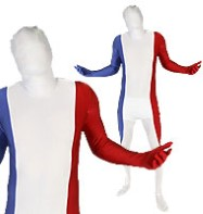 Morphsuit France - Adult Costume Fancy Dress
