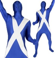 Morphsuit Scotland - Adult Costume Fancy Dress