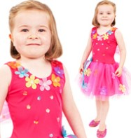 Sequin Flower Fairy - Child Costume Fancy Dress