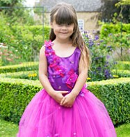 Princess Amelia Gown - Child Costume Fancy Dress