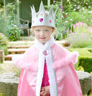 Jewel Queens Cape - Child Costume Fancy Dress