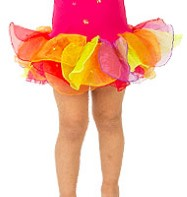 Flower Tutu - Child Costume Fancy Dress
