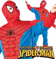 Spiderman Deluxe - Adult Costume Fancy Dress