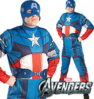 Captain America Classic - Adult Costume Fancy Dress