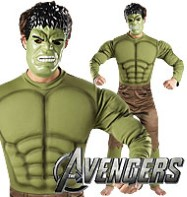 Hulk Deluxe - Adult Costume Fancy Dress