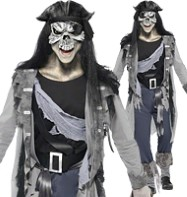 Haunted Swashbuckler - Adult Costume Fancy Dress