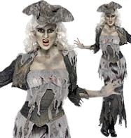 Ghost Ship Goulina - Adult Costume Fancy Dress