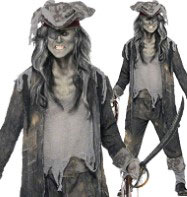 Ghost Ship Ghoul - Adult Costume Fancy Dress