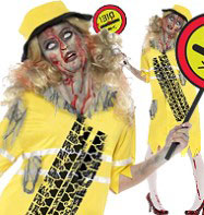 Zombie Lollipop Lady - Adult Costume Fancy Dress