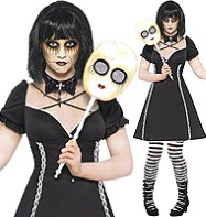 Horror Doll - Adult Costume Fancy Dress