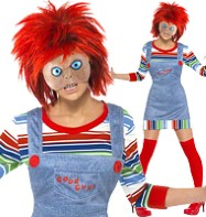 Chucky Female - Adult Costume Fancy Dress