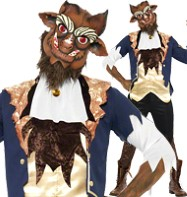 Beast - Adult Costume Fancy Dress