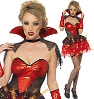 All that Glitters Vamp - Adult Costume Fancy Dress