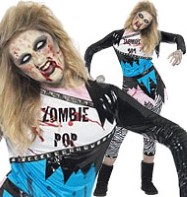 Zombie Pop Star - Teen Costume Fancy Dress