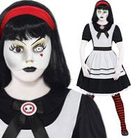 Living Dead Doll Alice - Teen Costume Fancy Dress