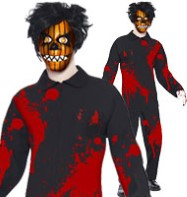 Living Dead Doll Pumpkin Boy - Teen Costume Fancy Dress