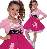 Fifties Girl - Child Costume Fancy Dress