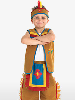 Indian - Child Costume Fancy Dress