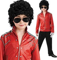 Michael Jackson Beat It Jacket - Child Costume Fancy Dress