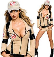 Ghostbuster - Adult Costume Fancy Dress