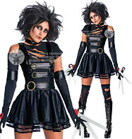 Miss Scissorhands - Adult Costume Fancy Dress