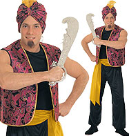 Sultan - Adult Costume Fancy Dress