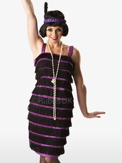 Flapper Dress - Adult Costume Fancy Dress