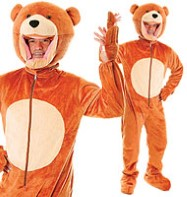 Teddy Bear - Adult Costume Fancy Dress