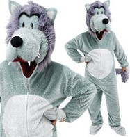 Wolf - Adult Costume Fancy Dress
