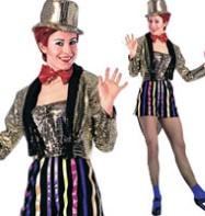 Rocky Horror Columbia - Adult Costume Fancy Dress