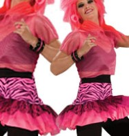 Pink Party Skirt - Adult Costume Fancy Dress
