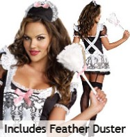 Maid to Order - Adult Costume Fancy Dress
