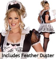 Maid to Order Plus - Adult Costume Fancy Dress
