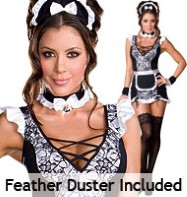 Parisian Provocateur - Adult Costume Fancy Dress