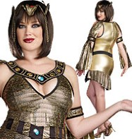 Naughty on the Nile Plus - Adult Costume Fancy Dress